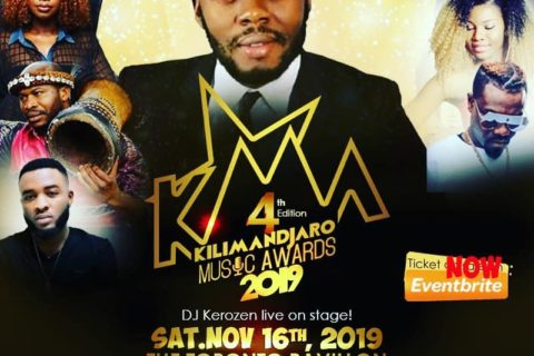 KILIMANDJARO MUSIC AWARDS- KMA 2019 – DJ KEROZEN LIVE ON STAGE!!