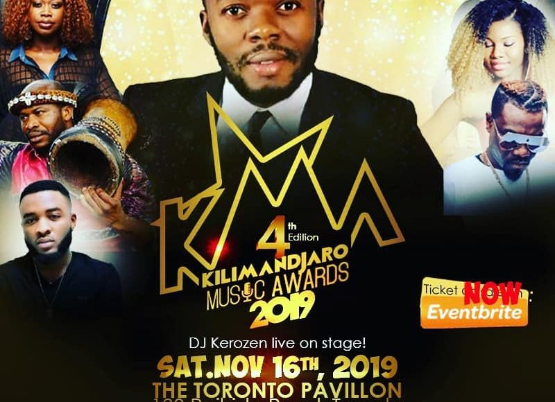 KILIMANDJARO MUSIC AWARDS- KMA 2019 – DJ KEROZEN LIVE ON STAGE!!